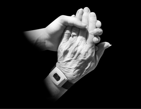 Generations of hands: Can aspirin reduce wrinkles and make skin more youthful?  It's all about reducing inflammation.