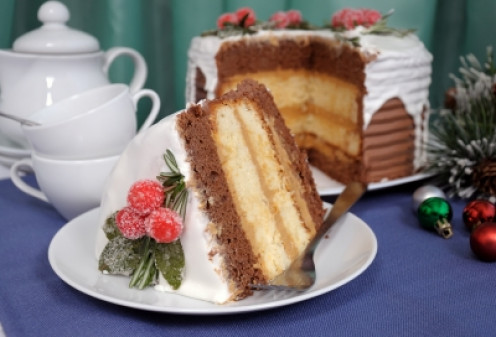 See my recipe hub for Christmas Cake, yum yum!