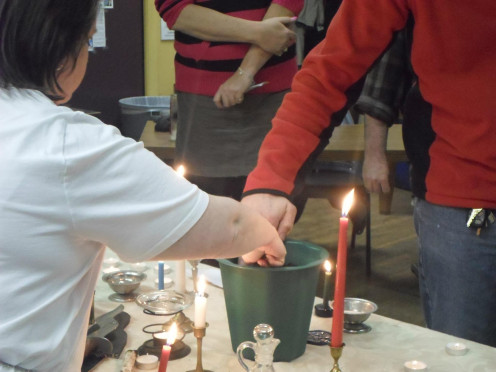Ostara Sabbat: Planting seeds to bring about manifestation.
