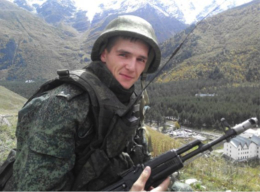 Zahar Timin, Russian soldier who got killed in Donbas. His wife says he was not a volunteer.