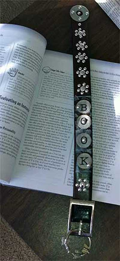 Bookmark, from Belt,Altered