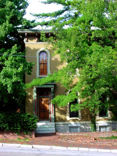 Historic home, Alton, Illinois.