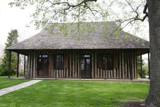 Old Cahokia Courthouse, Cahokia, Illinois.