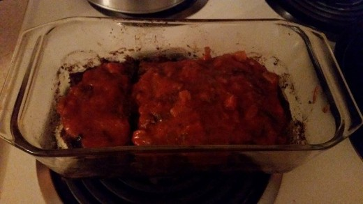 My meatloaf almost always turns out ugly and I'm not sure why....but it's always delicious!