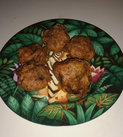 Fried Mushrooms, gluten free!!!!!!
