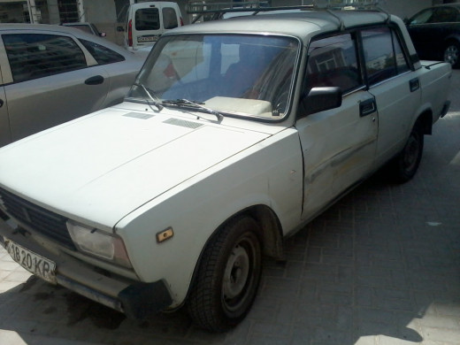 Lada 2103, an indestructible car.