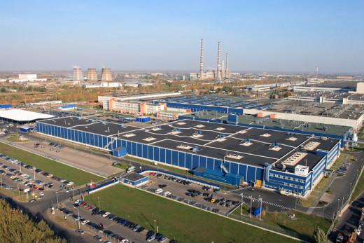 Avtovaz, the largest single car factory in the world.