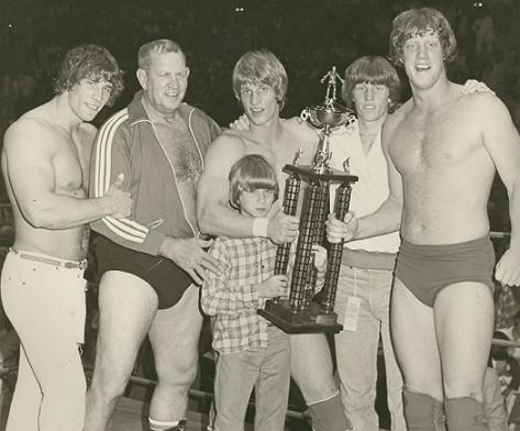 The Von Erich family of wrestlers