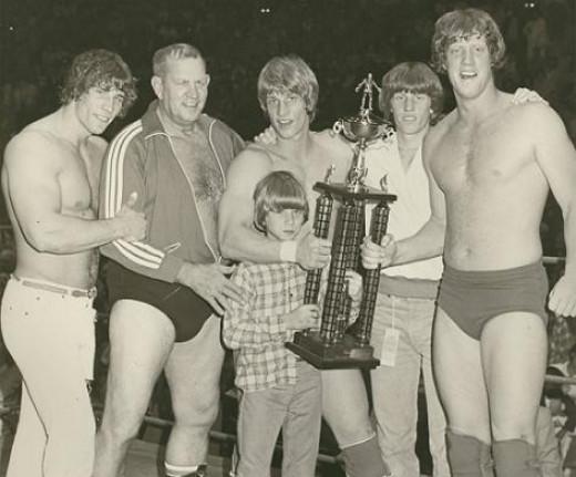 The Von Erich family of wrestlers