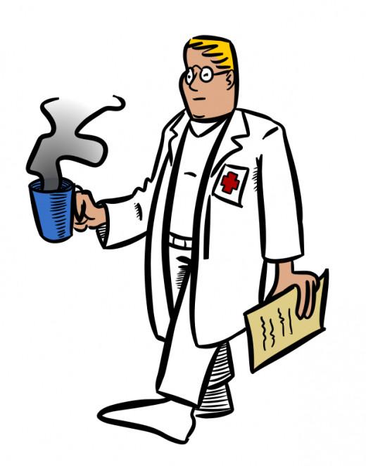 Sad doctor - chose a job due to social pressure.