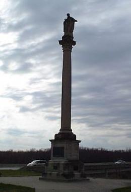 Father Marquette Monument, Prairie du Chien, Wisconsin.
