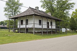 Maison-Bequette-Ribault House, St. Genevieve, Missouri.