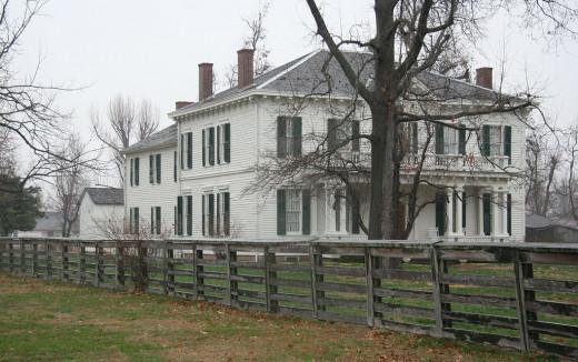 Hunter Dawson State Historic Site, New  Madrid, Missouri.