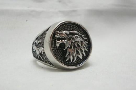 House of Stark symbol, the direwolf