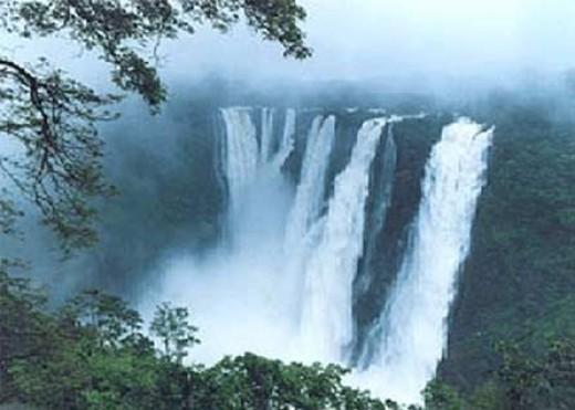 Jog falls of Deccan Plateau