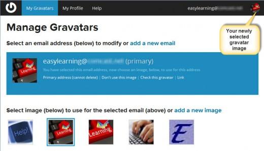 Gravatar.com new gravatar image