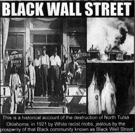 """The financial strength of what was known as the """"Black Wall Street"""" generated a wealthy empire in segregated America."""
