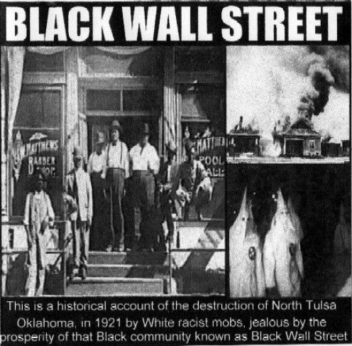 "The financial strength of what was known as the ""Black Wall Street"" generated a wealthy empire in segregated America."