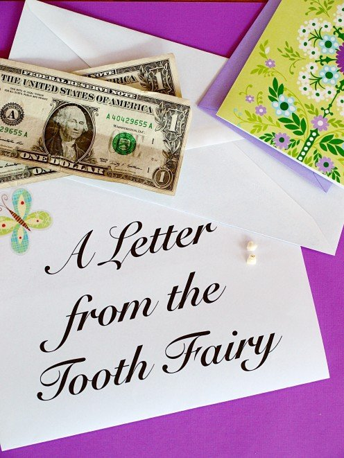Tooth Fairy Letters for Your Child