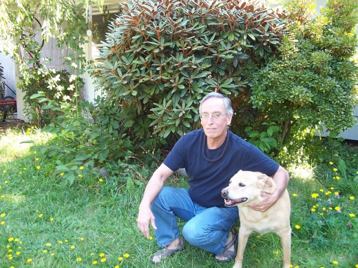 Billy and his faithful dog, Jazz
