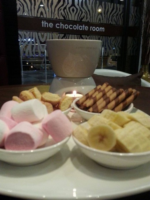 The Dips for the Chocolate Fondue
