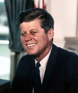 J F Kennedy, Official White House Photo by Cecil Stoughton