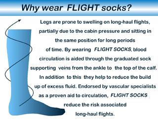 Flight Socks Facts