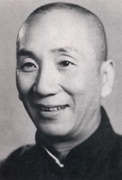 The real Ip Man (a.k.a. Yip Man); Not Donnie Yen; wouldn't want to mess with either one.
