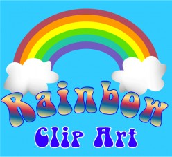 Rainbow Clip Art and Graphics