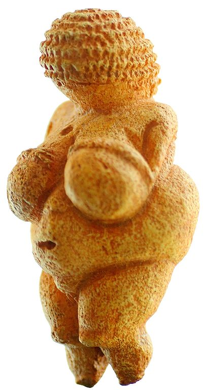 The Venus of Willendorf, lately discovered to be a representation of Friznat's Braided Phase.