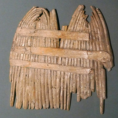 Stone Age nit comb, sacred to the Lady of Bad Hair Days.