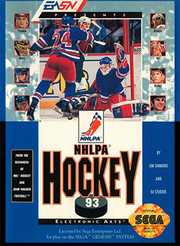 NHLPA 93 for the Sega Genesis