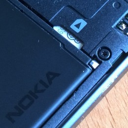 Sim card held firmly in place