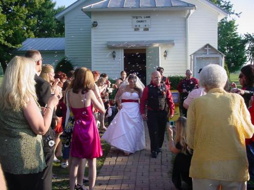Traditional wedding ceremony.