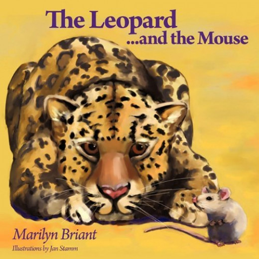 The cover of Marilyn's self-published book.
