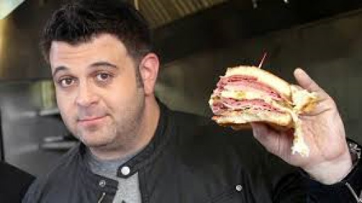 Adam Richman, former host of Man vs Food as seen on The Travel Channel