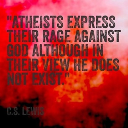 """Rage Against Quotes: How To Handle It When A Christian Says, """"You're Mad At God"""