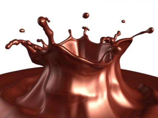 Yummy, Melting Chocolate!