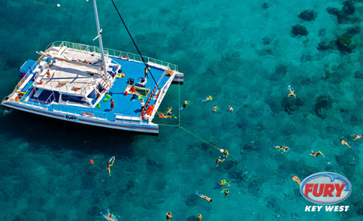 This is the Ultimate Adventure in action with guest choosing to snorkel!