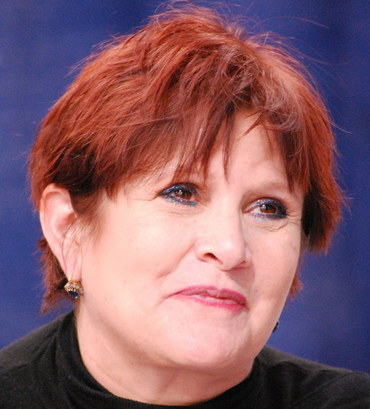 Carrie Frances Fisher was born October 21 1956 is a famous screenwriter, actress and the daughter of actress Debbie Reynolds.