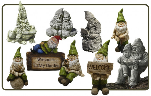 Just like people, gnomes have different personalities. Here we have a collection from what I consider the best source of gnomes (and since a family member is an avid Gnomie, I have some experience with that). See following section for more info.