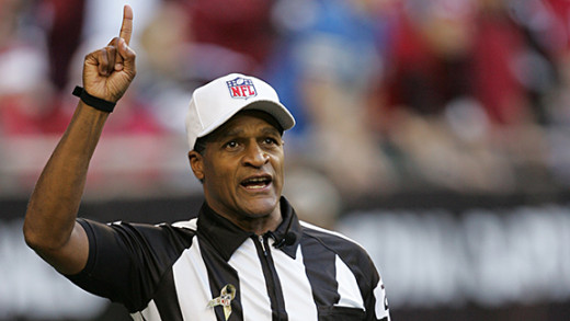 In one fell swoop, Boger continues the Arizona cardinals lucky season AND cements his place as WORST REF IN THE NFL. Congratulations!