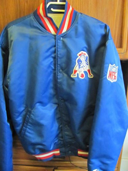 New England Patriots official NFL jacket for the hubby - very good condition - $6.99