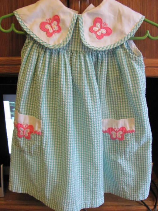Lovely new sun dress for my granddaughter - $3.99