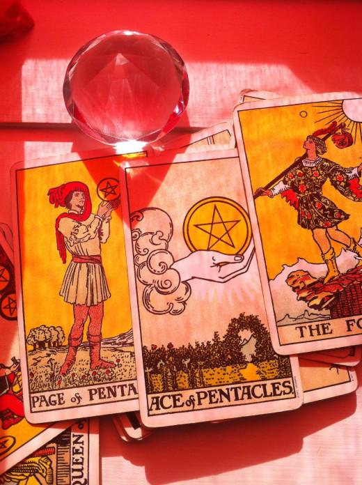 Author's own tarot cards