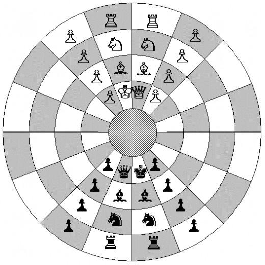 Byzantine Chess Starting Positions