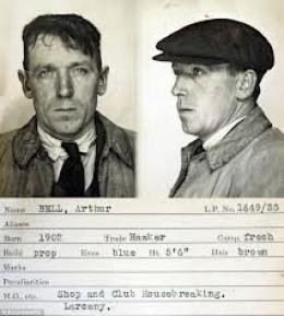Failed burglar, Arthur Bell