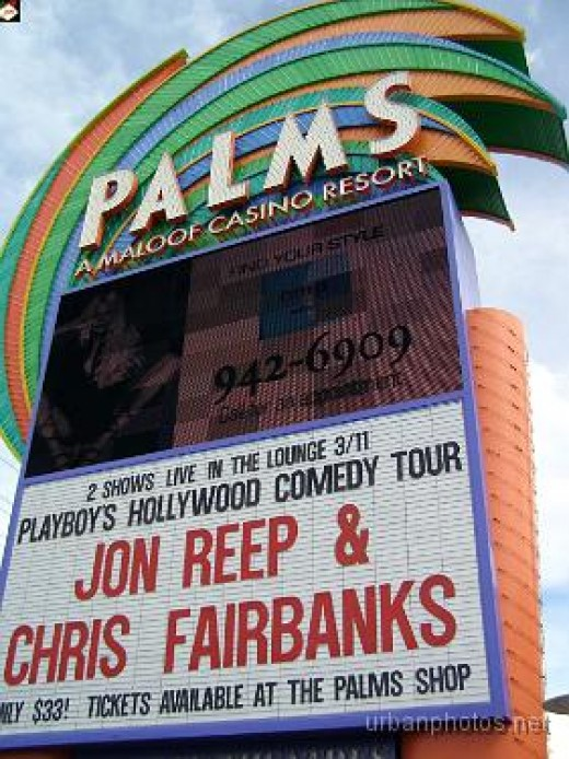 The Palms Las Vegas marquee