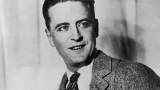 F. Scott Fitzgerald, in his younger years.