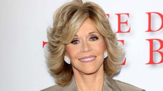 Jane Fonda today.